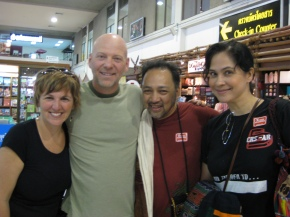 Sherry and Pastor Chuck - our family in Thailand!