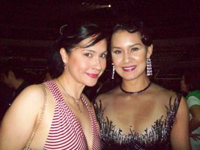 With Gionna at the Bb. Pilipinas 2009 Pageant