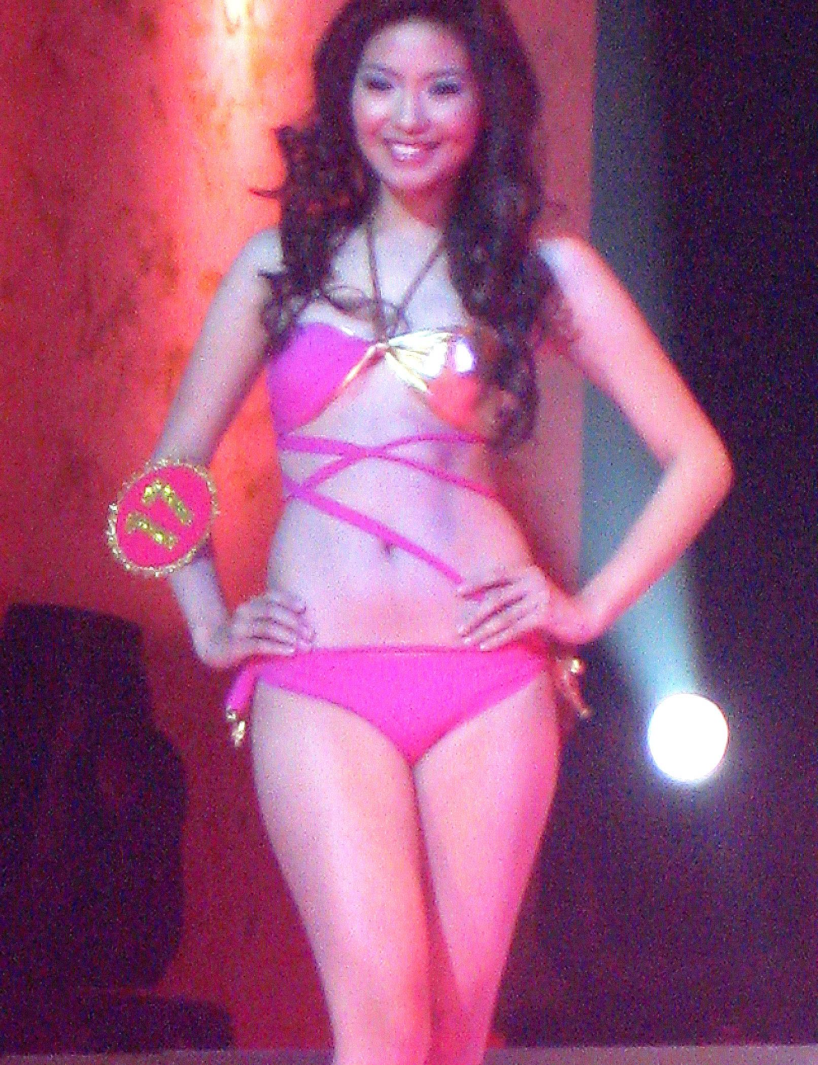 Candidate #17 Kim de Guzman (Ms. Bikini World)