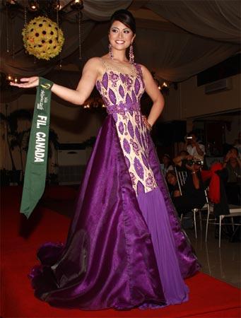 Miss Fil-Canada Tess Kruger