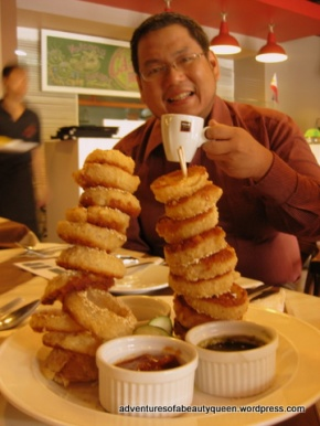 APPETIZER: Tower O' Sesame Rings (with Chef Tony)