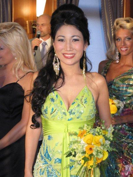 Best in Evening Gown winner Camilla Kim Galvez of the Philippines