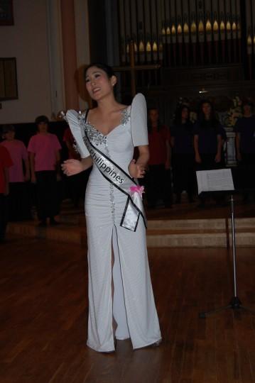 Camilla Galvez Kim, Mrs. Philippines Universe sings in Latvian Music Fest!