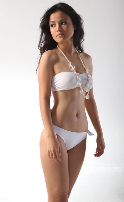 erika jayne bikini. stunning in a white ikini