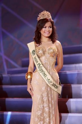 Marie Razel Eguia wins Ms Phils Earth Air 2008!