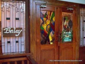 Balay Indang's Doors