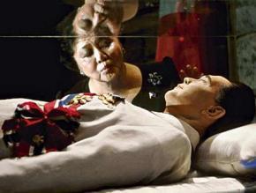 Imelda Marcos Kisses Ferdinand