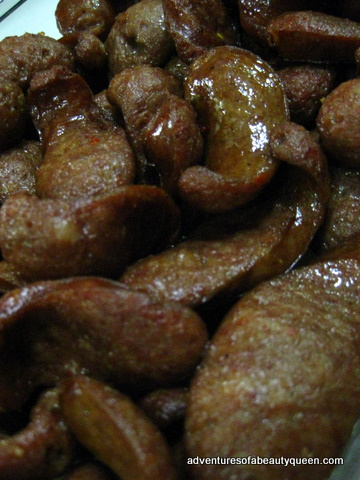 Ilocano Longanisa, sliced and FRIED!!! Oooooolalalalaaaah....