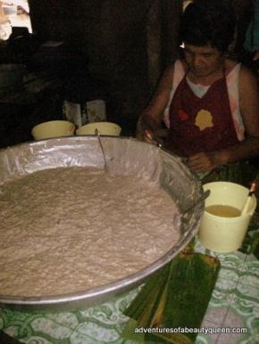 tupig = oatmeal? LOLOL!!!