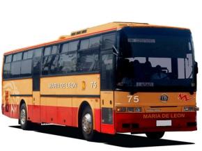 Maria de Leon bus