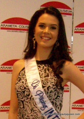 Miss International 2009 Top 15 finalist Melody Gersbach of the Philippines