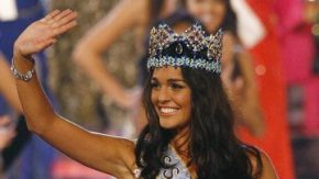 Ms World 2009 winner Kaiane Aldorino of Gibraltar