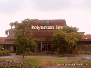 Approaching the Polynesian Spa... will it be as good as I hope? Looks like it!