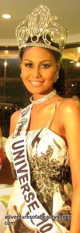 Ma. Venus Raj - loses Bb Pilipinas Universe Crown!