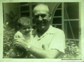 Me with My Dad when I was just a baby...