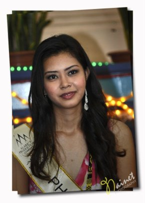 Ms. Philippines Wendy Lucas in Ms Tourism Intercontinental 2010