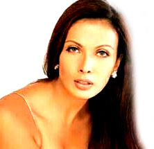 Beauty Queen Viveka Babajee in better days...
