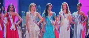 Top 5 in Miss Universe 2010, L-R : Mexico's Jimena Navarrete, Australia's Jesinta Campbell, Jamaica's Yendi Phillips, Ukraine's Anna Poslavska and THE PHILIPPINES' MARIA VENUS RAJ!!!