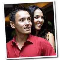 Victor Consunji and Maggie Wilson