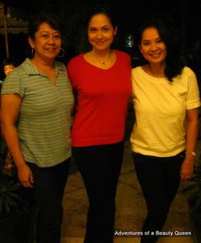 Mutya ng Pilipinas Tourism 1977 Emma Yuhico, blogging beauty queen Joyce Ann Burton Titular and Best Figure Among Us Three - Aji Ishak!!!