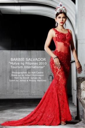 Mutya ng Pilipinas Tourism International 2010 Barbie Salvador