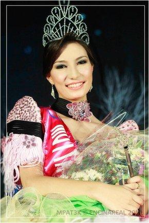 Yvette Mildenberger when she won Mutya ng Tabac 2010