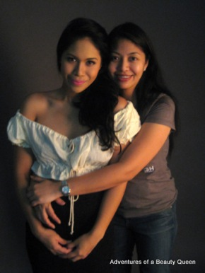 Diandra Zach with Photographer Lally Hernandez Eleazar