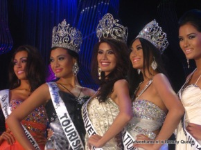 Bb. Pilipinas 2011 Winners - L-R - 2nd RU MJ Lastimosa, Tourism Isabella Manjon, Universe Shamcey Supsup, International Dianne Necio and 1st RU Janine Tugonon