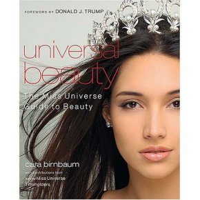 """Amelia Vega, Dominican Republic, Miss Universe 2001 is on the cover of """"Universal Beauty: The Miss Universe Guide to Beauty"""""""