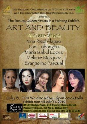 Art and Beauty Invitation