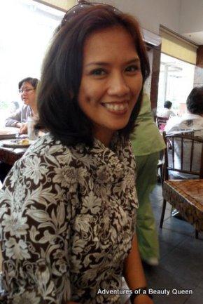 Bb. Pilipinas Young 1985 Tina Alcala - today!