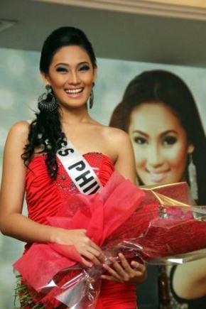 Dianne Necio at her Send-off to Miss International 2011!