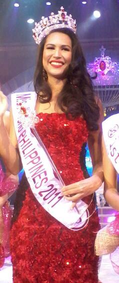 Gwendoline Ruais - Miss World Philippines 2011