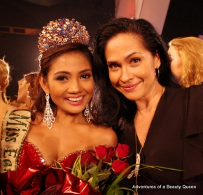 Athena Imperial with the blogging beauty queen...