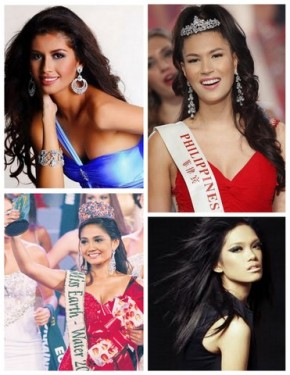Winners that rocked my 2011 - from Top Left clockise - Shamcey Supsup, Gwendoline Ruais, Danica Magpantay and Athena Imperial