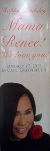 We love you very much Mama Renee!