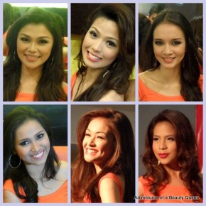 ABQ's Darkhorse Collection of Bb. Pilipinas 2012 beauty contestants