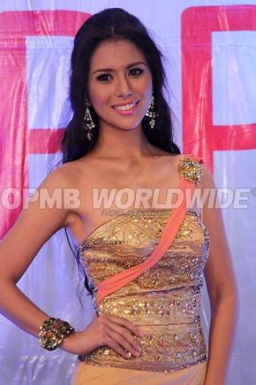 April Love Jordan at the Final Screening of the Miss World Philippines 2012
