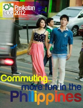 Hannah Ching and Jasper Neill's Poster in Pasikatan 2012, a La Salle Pageant. Make-up by Diandra Zach