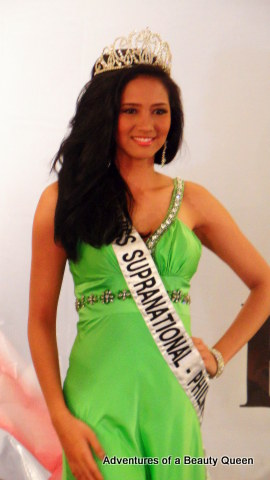 Miss Supranational Philippines, Elaine Kay Moll at her send-off
