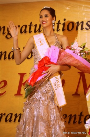 Elaine Kay Moll at her Victory/Birthday Party. She is wearing the gown she competed in in the Miss Supranational 2012 where she won 3rd Runner-up!