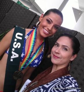 ABQ with Miss USA Siria Bojorquez