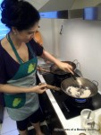 Toasting Coconut for my Black Sticky Rice Pudding