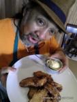 Ron's Deep Fried Bananas with some Vanilla Ice Cream!