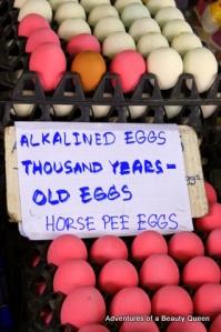 Horse-Piss Eggs. WHOAH!