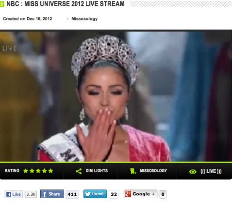 Olivia Culpo of the USA is our new Miss Universe (2012)!!!