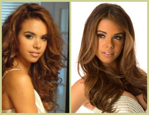Baby Face Bodine? or Bodine the Babe? The right make-up can help make this girl look more like a woman than a girl...