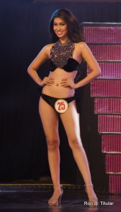 Rizzini Alexis Gomez won Best in Swimsuit during the Mutya ng Pilipinas 2012 beauty pageant aside from winning the Tourism Title.