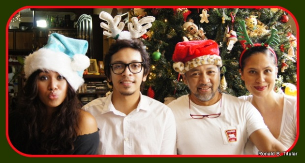 Merry Christmas! From Diandra, Wolf, Ron and Me!