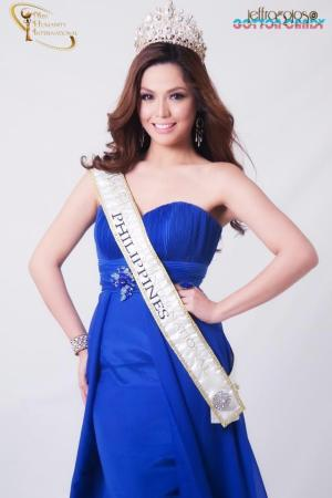 Ayelee Dasalla, 2nd Runner-up Miss Humanity 2012